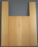 Lacewood guitar back and sides WAAA* no 10