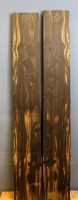 African Coloured Ebony sawn boards no 9 and 10