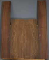 Indian rosewood guitar back and sides CAAA* no 12