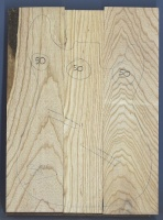 Swamp ash three piece body blank no 50