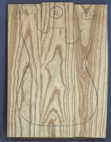 Swamp ash three piece body blank no 51