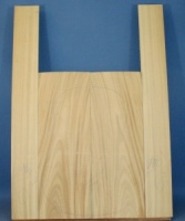 Satinwood guitar back and sides CAA no 1