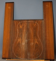 Cocobolo guitar back and sides set no 18
