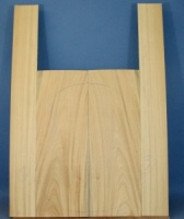 Satinwood guitar back and sides CAA no 2