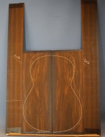 Cocobolo guitar back and sides set no 206