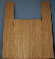 American black walnut guitar back and sides set number 28