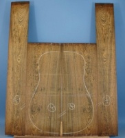 Bocote guitar back and sides WA*+ no 4