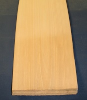 European white beech veneer crown cut