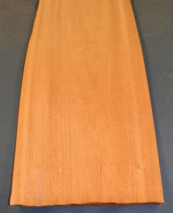 Sapele veneer crown cut