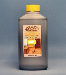 Mylands Acrylic Waterstain Jacobean Oak1 litre