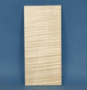 Rippled maple head veneer