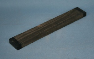 African ebony classical guitar bridge blank grade AAA*