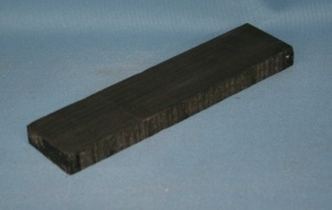 Indian ebony western guitar bridge blank grade AAA**
