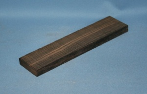 Macassar ebony classical guitar bridge blank grade AAA*