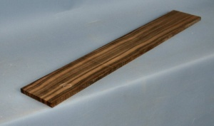 Macassar ebony 7 string guitar fingerboard