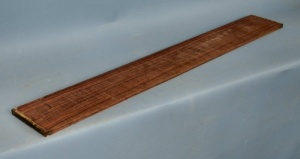 Indian rosewood 6 string bass guitar fingerboard grade AAA**
