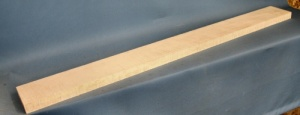 Ripple sycamore guitar neck blank type A medium figure