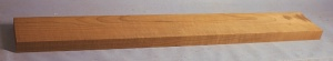 Torrified curly maple neck blank type F medium figure number 3