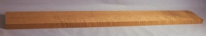 Torrified curly maple bass neck blank type FB strong figure number 150