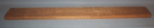 Torrified curly maple bass neck type FB medium figure number 114