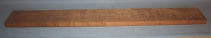Torrified curly maple bass neck blank type FB medium figure number 107