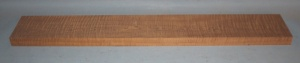 Torrified curly maple neck blank type F strong figure number 51