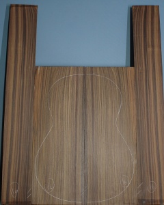 Indian rosewood guitar back and sides CAAA** number 16