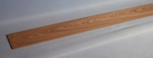 Through neck lamination piece 1150 x 110 x 4mm Santos rosewood