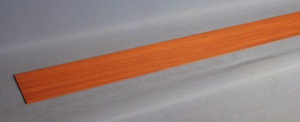 Through neck lamination piece 1150 x 110 x 2mm padauk