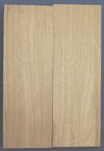 Birds eye maple guitar top number 2 type 'B' strong figure