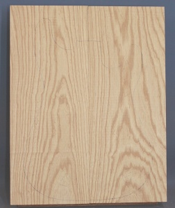 Swamp ash two piece body blank no 47
