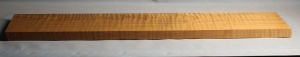 Torrified curly maple neck blank type F medium figure number 2
