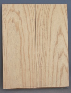 Swamp ash two piece body blank no 11