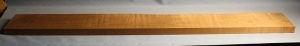 Torrified curly maple bass neck blank type FB medium figure number 103