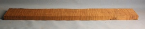 Torrified curly maple neck blank type F medium figure number 9
