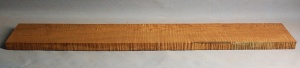 Torrified curly maple neck blank type F strong figure number 58