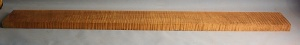 Torrified curly maple bass neck blank type FB strong figure number 154