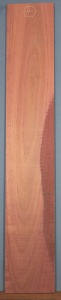 Purpleheart sawn board number 4