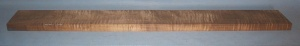 Torrified curly maple bass neck blank type FB medium figure number 112