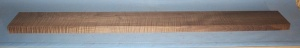 Torrified curly maple bass neck blank type FB medium figure number 109