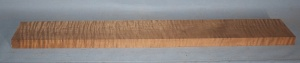 Torrified curly maple neck blank type F medium figure number 26