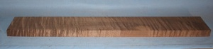 Torrified curly maple neck blank type F medium figure number 18