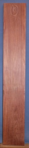 Purpleheart sawn board number 10