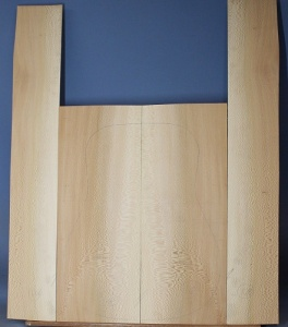 Lacewood guitar back and sides WAAA* no 128