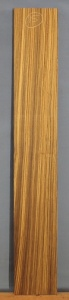 Zebrano sawn board number 15