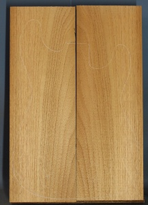 Honduras cedar two piece body blank number 4
