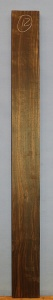 Macassar ebony sawn board no 12