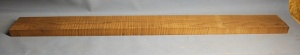 Torrified curly maple bass neck blank type FB strong figure number 152