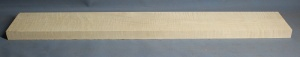 Curly maple guitar neck blank type F medium figure number 2