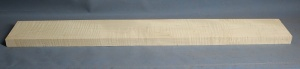 Curly maple guitar neck blank type F medium figure number 4